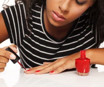pro looking manicure at home