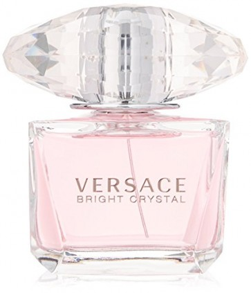 Versace Bright Crystal Eau de Toilette Spray for Women, 3 oz