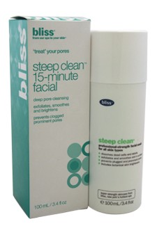 Bliss Steep Clean Pore Purifying Mask , 3.4 oz