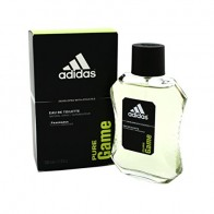 Adidas Pure Game Eau de Toilette Spray for Men, 3.4 oz