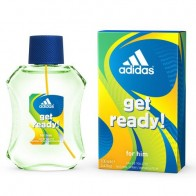 Adidas Get Ready For Him Eau de Toilette Spray for Men, 3.4 oz