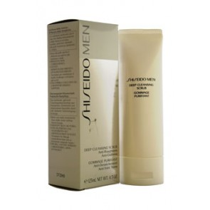 Shiseido Men Deep Cleansing Scrub  for Men, 4.2 oz