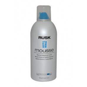 Rusk Mousse - Maximum Volume And Control  for Unisex