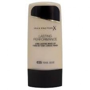 Max Factor Lasting Performance Long Lasting Foundation - 035 Pearl Beige for Women, 35 Ml