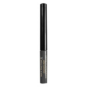 Max Factor Colour X-Pert Waterproof Eyeliner  - 02 Metallic Anthracite for Women, 0.06 oz