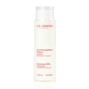 Clarins Cleansing Milk With Gentian , 7.0 oz