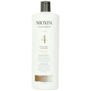 Nioxin System 4 Cleanser For Fine Chemically Enh. Noticeably Thinning Hair , 33.8 oz