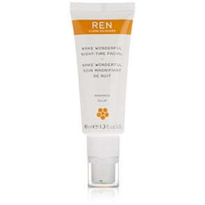 REN Wake Wonderful Night-Time Facial , 1.4 oz