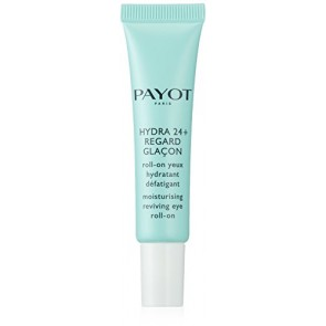 Payot Hydra 24+ Regard Glacon Moisturising Reviving Eyes Roll-On Treatment for Women, 0.5 oz