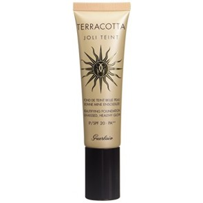 Guerlain Terracotta Joli Teint Beautifying Foundation With Sunscreen - Dark for Women, 1 oz