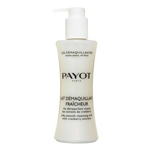 Payot Lait Demaquillant Fraicheur Silky-Smooth Cleansing Milk  for Women, 6.7 oz