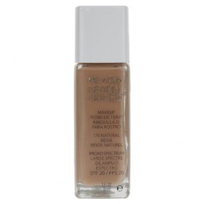 Revlon Nearly Naked Foundation - Natural Beige for Women, 1.0 oz