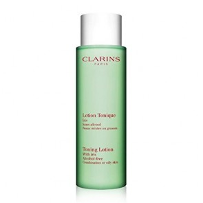 Clarins Toning Lotion With Iris Alcohol Free , 6.8 oz