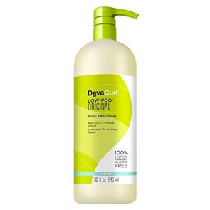 Deva DevaCurl Low-Poo Mild Lather Cleanser , 32 oz