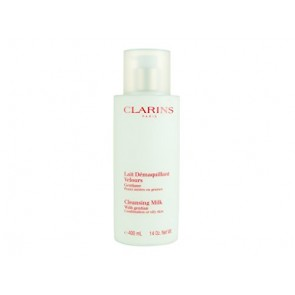Clarins Cleansing Milk With Gentian , 13.33 oz