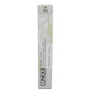 Clinique Chubby Stick Moisturizing Lip Colour Balm - 05 Chunky Cherry for Women, 0.1 oz