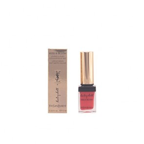 Yves Saint Laurent Kiss & Blush Lip & Cheek Color Liquid - 4 Orange Fougueux, 0.33 oz