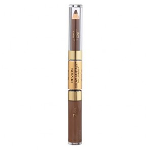 Revlon Brow Fantasy Pencil And Gel - 105 Brunette, 0.04 oz