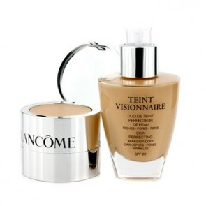 Lancome Teint Visionnaire Skin Perfecting Makeup Duo - 01 Beige Albatre for Women, 1 oz