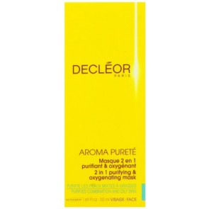 Decleor Aroma Purete 2 in 1 Purifying and Oxygenating Mask , 1.69 oz