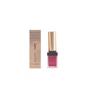 Yves Saint Laurent Kiss & Blush Lip & Cheek Color Liquid - 1 Fuchsia Desinvolte, 0.33 oz