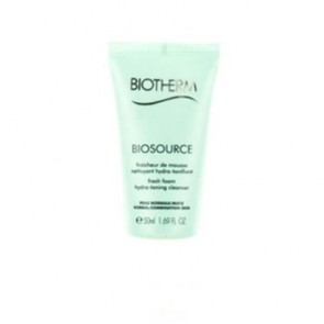 Biotherm Biosource Fresh Foam Hydra Toning Cleanser  , 1.69 oz