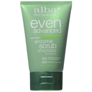 Alba Botanica Sea Algae Enzyme Facial Scrub , 4 oz