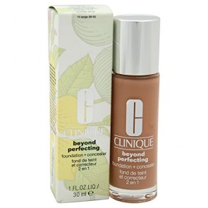 Clinique Beyond Perfecting Foundation+Conceale  - 15 Beige for Women, 1 oz