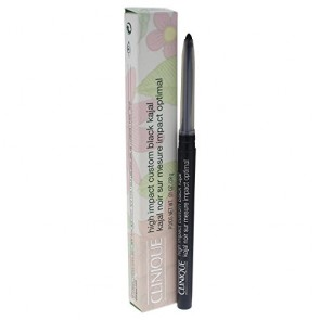 Clinique High Impact Eye Liner Pencil - 01 Blackened Black for Women, 0.01 oz