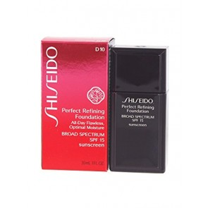 Shiseido Perfect Refining Foundation  - (D 10) (SPF 15), 1.0 oz
