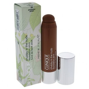 Clinique Chubby In The Nude Foundation Stick  - 24- Gargantuan Golden for Women, 0.21 oz