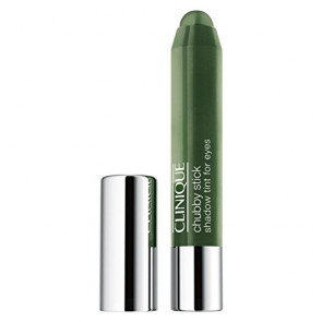 Clinique Chubby Stick Shadow Tint For Eyes  - 06 Mighty Moss for Women, 0.10 oz