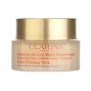 Clarins Extra-Firming Neck - Anti Wrinkle Rejuvenating Cream for Women, 1.6 oz
