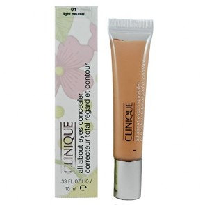 Clinique All About Eyes Concealer  - 01 Light Neutral for Women, 0.33 oz