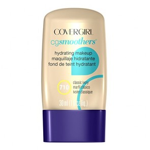 CoverGirl CG Smoothers Hydrating Make-Up Foundation  - 710 Classic Ivory for Women, 1 oz