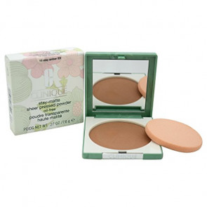 Clinique Stay Matte Sheer Pressed Powder - 10 Stay Amber for Women, 0.27 oz
