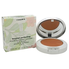 Clinique Beyond Perfecting Powder Foundation+Concealer  - 11 Honey for Women, 0.51 oz