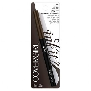 CoverGirl Ink It! By Perfect Point PlusEyeliner  - 260 Cocoa Ink for Women, 0.006 oz