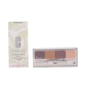 Clinique All About Shadow Quad Eyeshadow - 03 Morning Java for Women, 0.16 oz