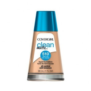 CoverGirl Clean Matte Liquid Foundation  - 510 Classic Ivory for Women, 1 oz