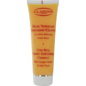 Clarins One-Step Gentle Exfoliating Cleanser With Orange Extract , 4.2 oz