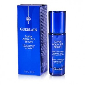 Guerlain Super Aqua Eye Serum Intense Hydration Wrinkle Plumper , 0.5 oz