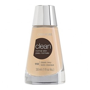 CoverGirl Clean Normal Skin Foundation  - 110 Classic Ivory for Women, 1 oz