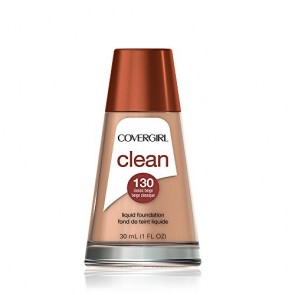 CoverGirl Clean Liquid Foundation  - 130 Classic Beige for Women, 1 oz