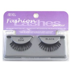 Ardell Glamour Lashes Eyelashes - Glamour - 101 Black for Women