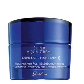 Guerlain Super Aqua Creme Night Cream - Age-Defying Hydration For Intense Recovery for Women, 1.6 oz