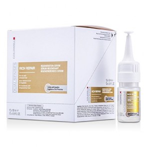 Goldwell Dualsenses Rich Repair Regeneration Serum , 12 x 0.6 oz