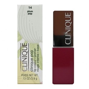 Clinique Pop Lip Colour + Primer - 14 Plum Pop for Women, 0.13 oz