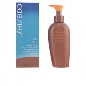 Shiseido Brilliant Bronze Quick Self Tanning Gel (For Face & Body) , 5 oz