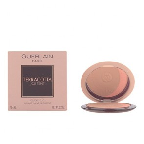 Guerlain Terracotta Joli Teint Powder Duo  - 03 Brunette/Natural, 0.35 oz